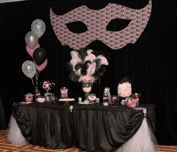 Sweet Sixteen Masquerade Party