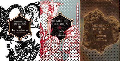 Memorias de Idhún - triology by Spanish author Laura Gallego García