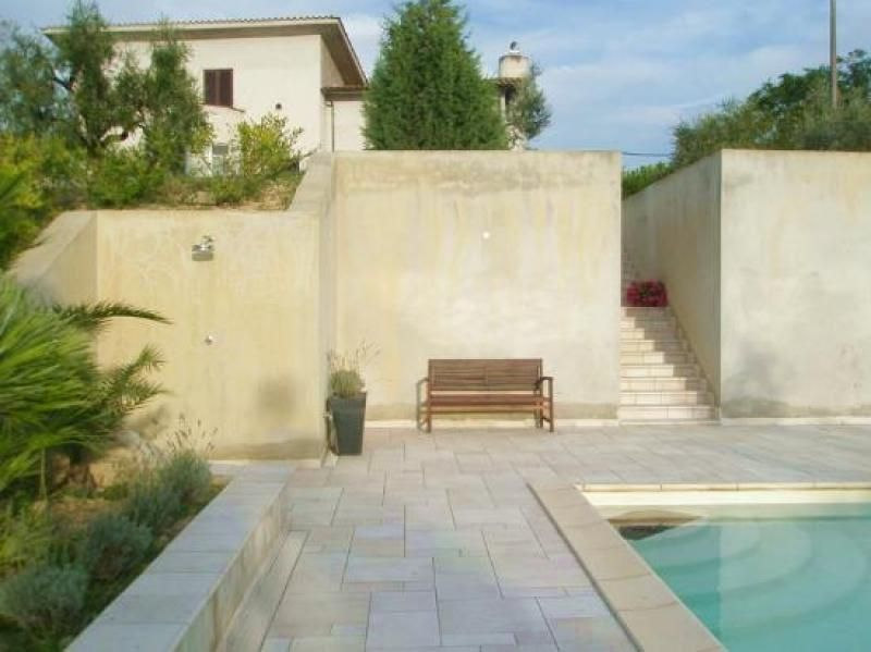 Marvelous Beautiful Newly Built Country Villa With Panoramic Views, On Two Levels  With Of Land, Olive Trees And Swimming Pool. Energy Class D   IPE Year  Location: At ...