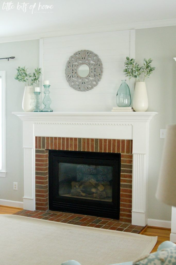 Love These Ideas For Decorating The Fireplace Mantel Simple Fireplace Turquoise Living Room Decor Fireplace Mantel Decor