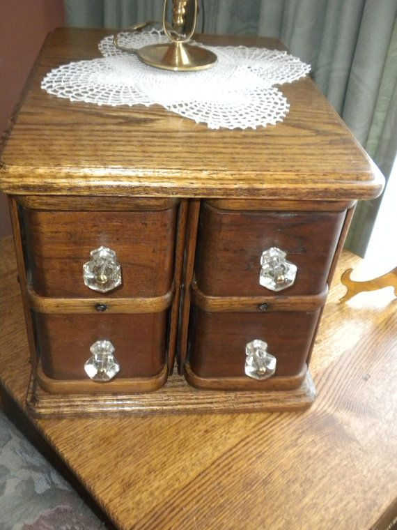 Antique Sewing Machine Drawers Repurposed
