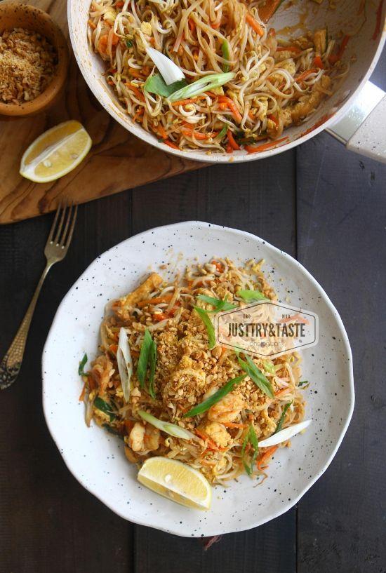 Pad Thai Resep Makanan Memasak Resep