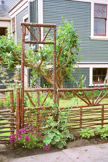 great fence and gate