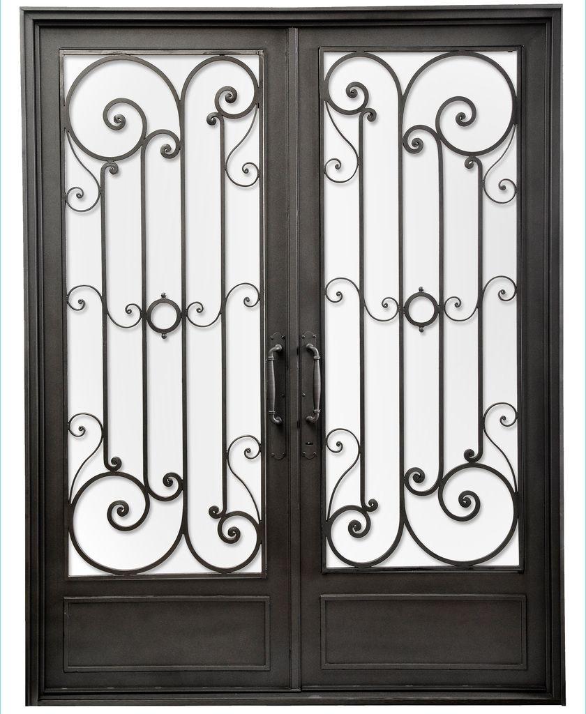 puerta de entrada de hierro u del hierro design