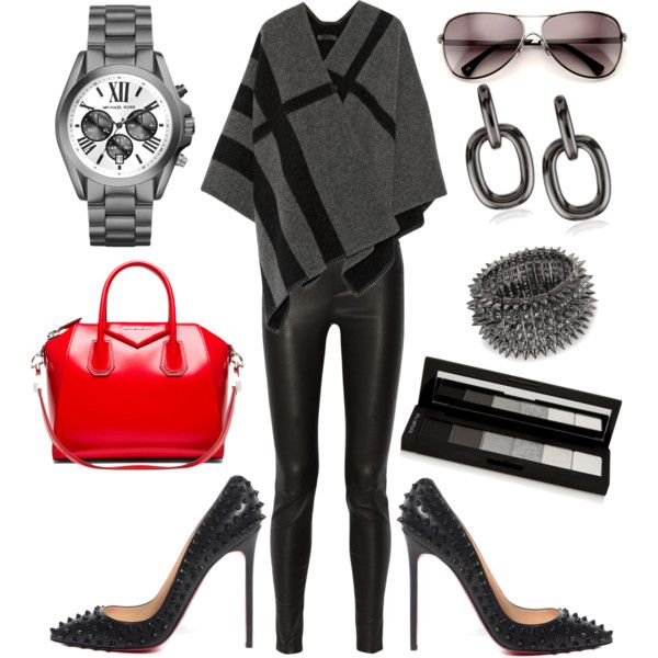 """A spikey kind of day"" by fashiontherapybyabby on Polyvore"