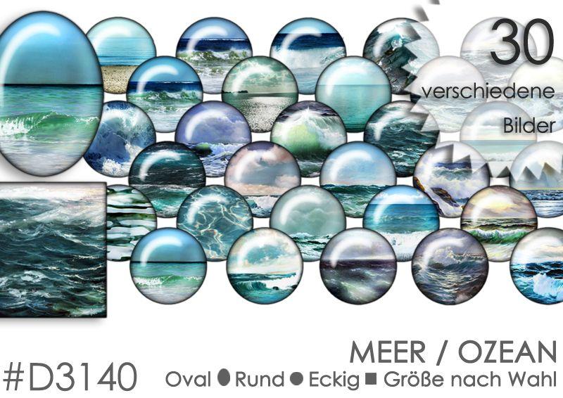 Cabochon+Vorlagen+Cabochonbilder+MEER+von+Planet+Mallika+auf+DaWanda.com