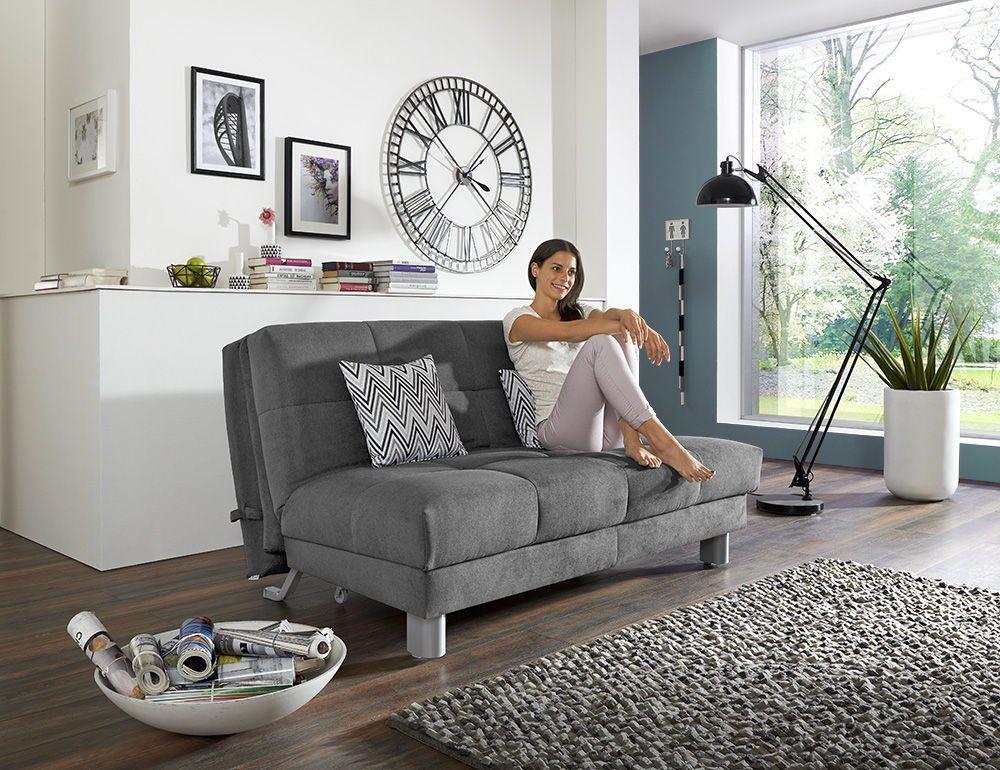Schickes Sofa Mit Schlaffunktion Perfekt Fur Kleine Raume Oder