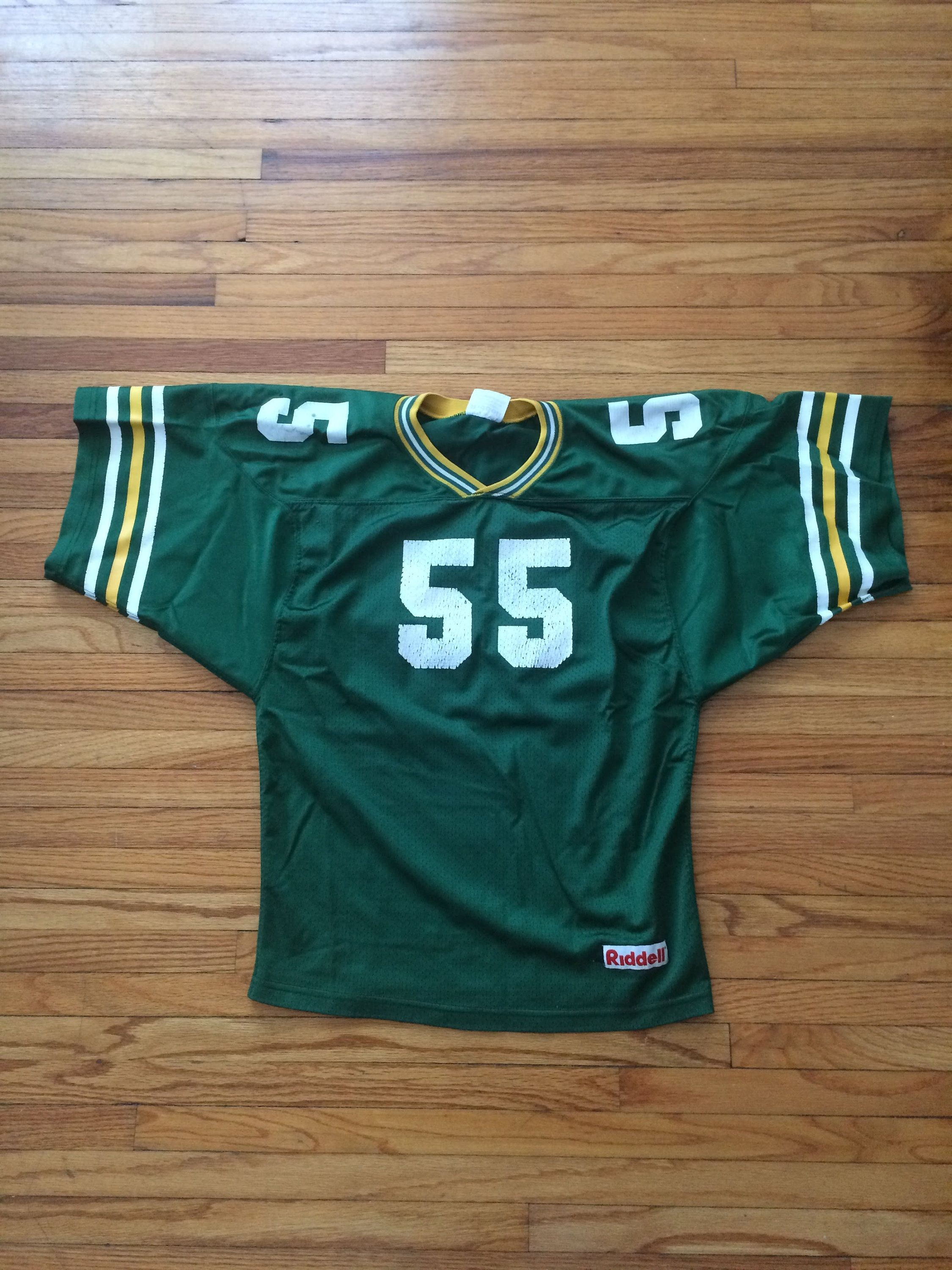 quality design 7c4cd 79618 Vintage Riddell Green Bay Packers Colorway Football Jersey ...