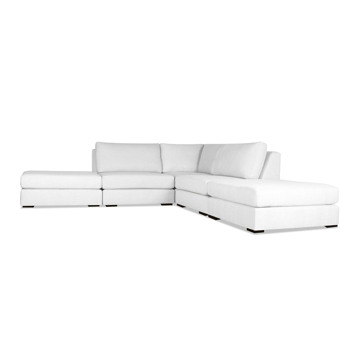 Yorkshire Modular L Shape Simple Sectional | Sectional sofa