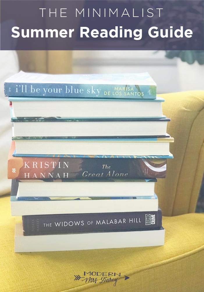 The 2018 Minimalist Summer Reading Guide Modern Mrs Darcy Summer Reading Guide Summer Reading Books