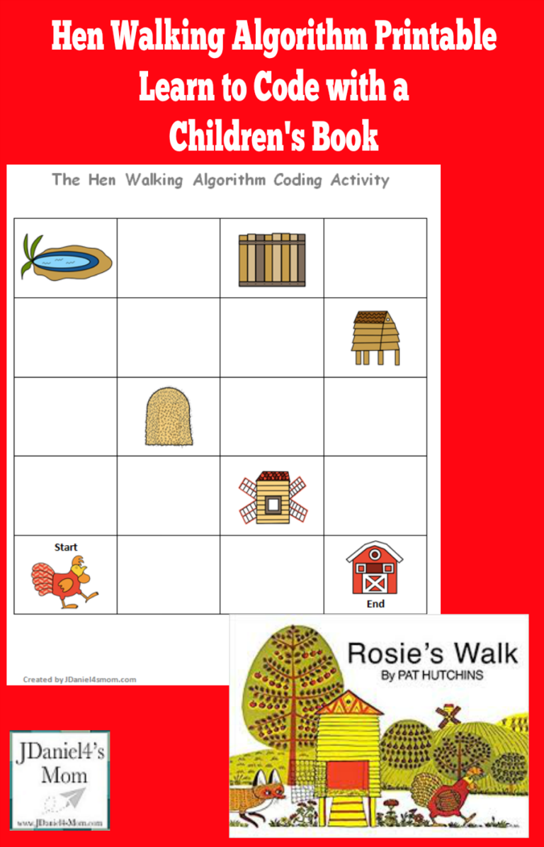 Learn To Code With A Children S Book Hen Walking Algorithm Based On Rosie S Walk Your Children Will Work Coding Lessons Early Learning Math Coding For Kids [ 1195 x 768 Pixel ]