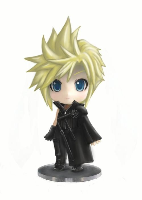 Cloud Strife Final Fantasy Vii Advent Children I Need