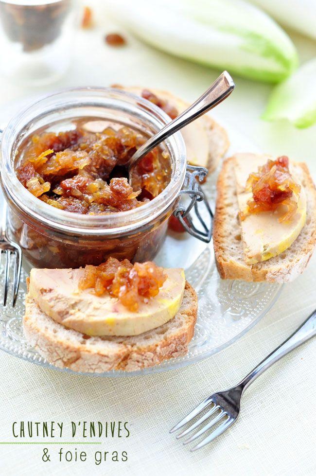 Ap ritif chic toast de foie gras chutney d 39 endives for Amuse bouche foie gras aperitif
