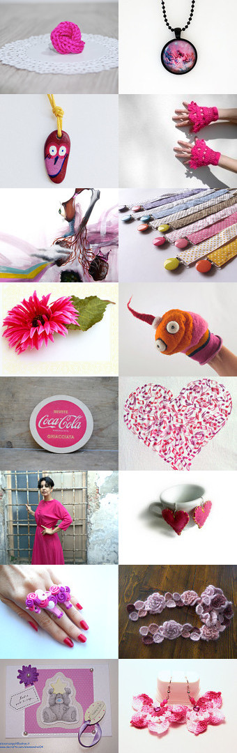 My favourite pink by ERIKA BRUGI on Etsy--Pinned with TreasuryPin.com
