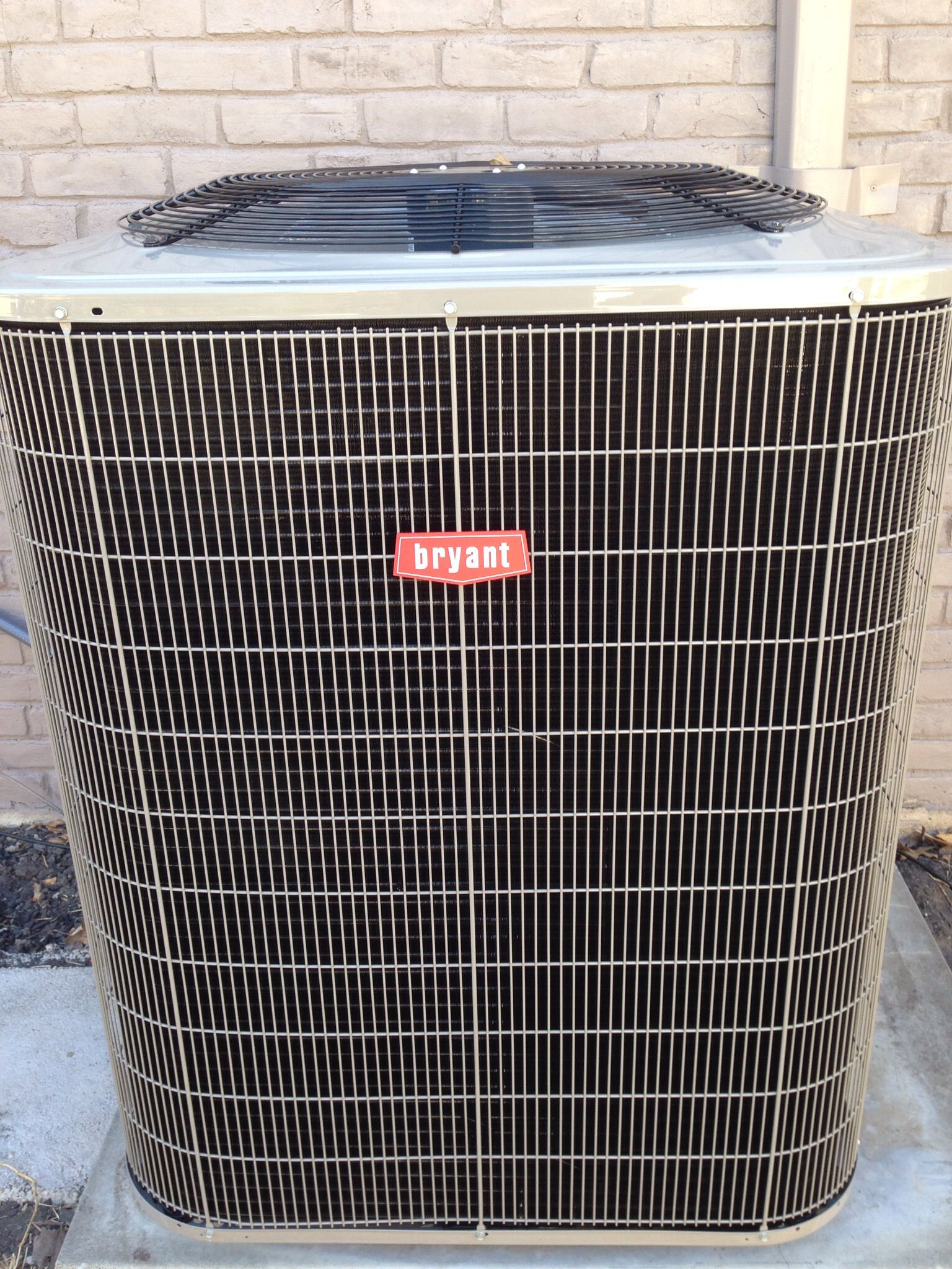 Bryant 5 ton, Legacy Series, Condenser install Home