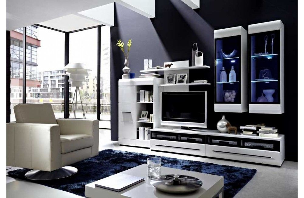 Meuble De Sejour Design Meubledesign Pour Votre Interieur Meuble Design Meuble Sejour Meubles De Salon Blanc