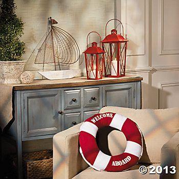 Various Nautical Decorations Coastal Decor Nautical Decor Coastal Style Decorating