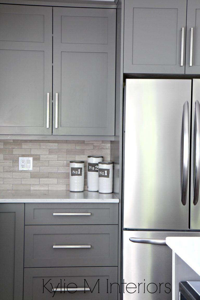 Best Kitchen Gallery: The 9 Best Benjamin Moore Paint Colors Grays Including Undertones of Grey Kitchen Cabinets Pictures on rachelxblog.com