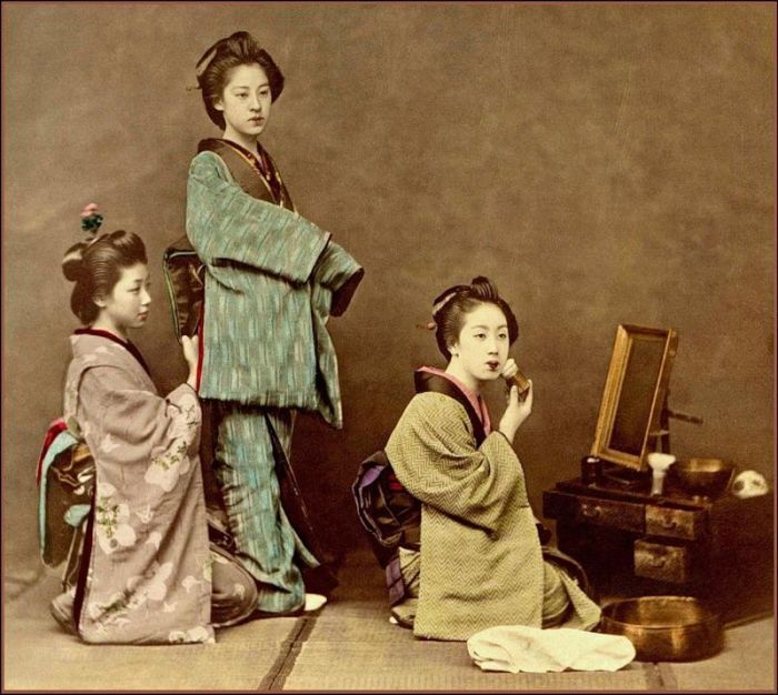 vintage everyday: Vintage Geisha photos
