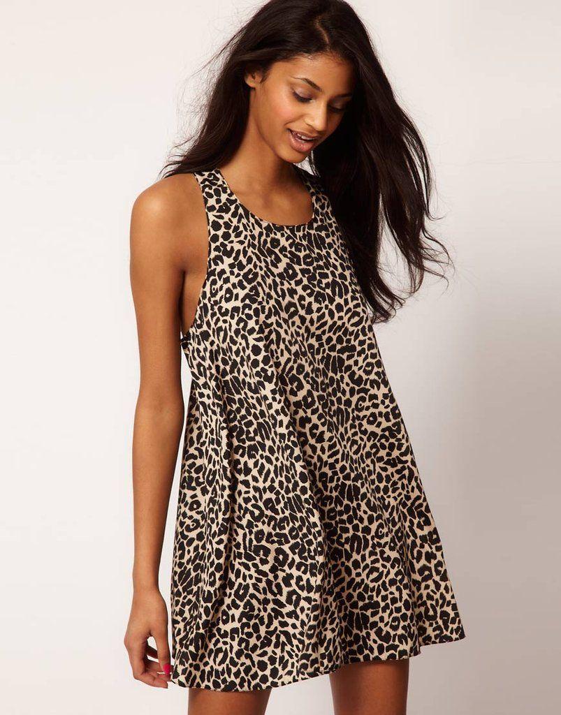 Animal Print Swing Dress ($49)
