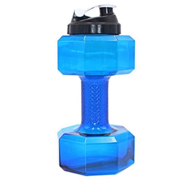 500mL Dumbbell Water Bottle Outdoor Sport Running Exercise Leakproof Kettle