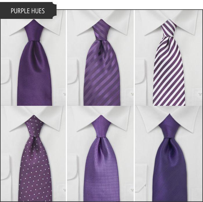 Purple Wedding Tie_Wedding Dresses_dressesss