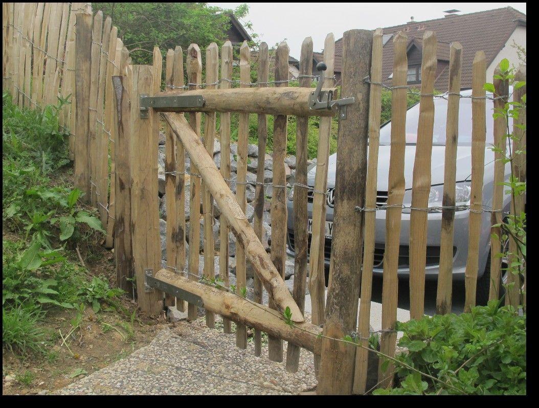 Staketenzaun Haselnuss Tor Selber Bauen Google Suche Garden Gates And Fencing Garden Gates Fence