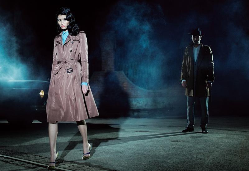 Vogue China march 12 - Hitchcock Beauty. Photographer: Terry Gates -Model: Ming Xi - stylist: Yi Guo