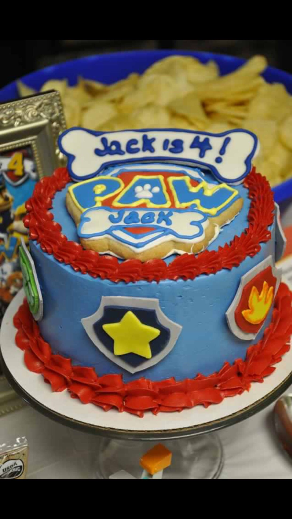 Astonishing Paw Patrol Smash Cake Greenville Sc Www Mysweetfavorites Com Funny Birthday Cards Online Chimdamsfinfo