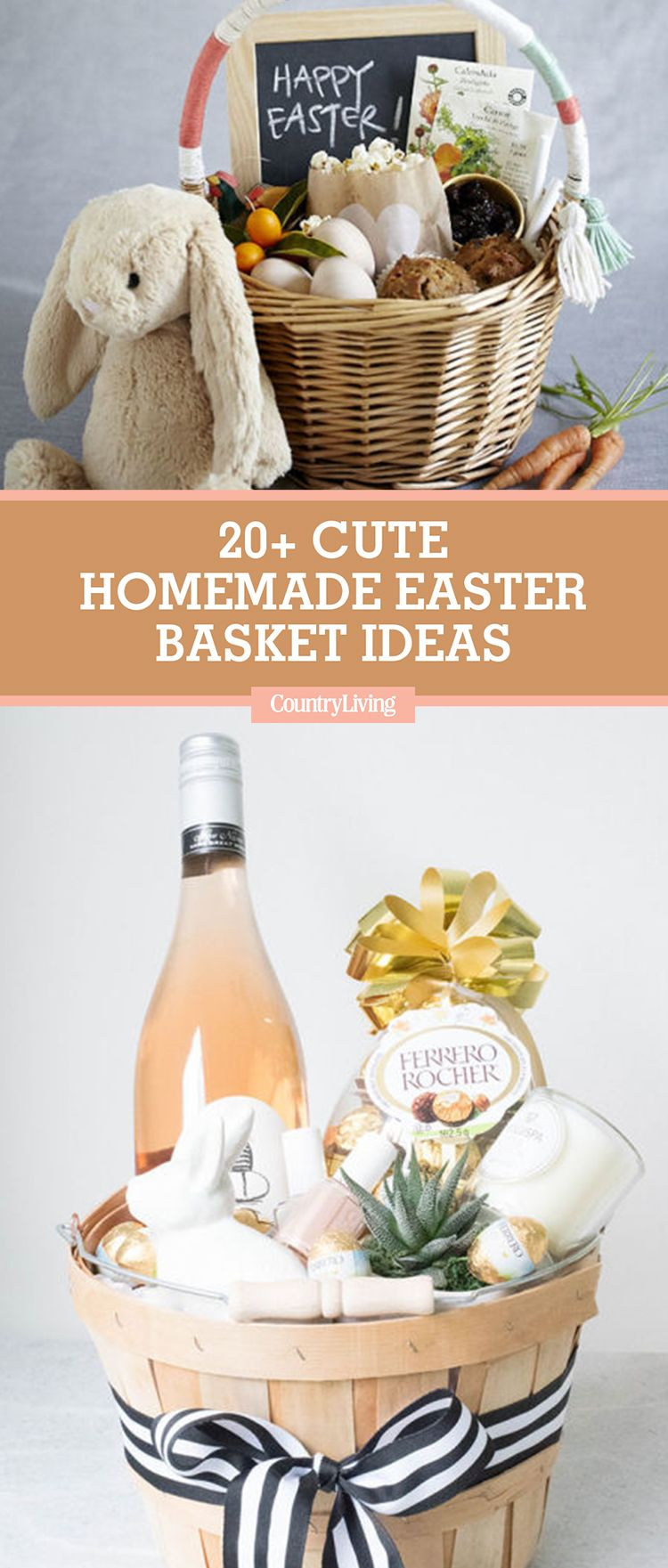 Get Egg Cited About These Diy Easter Basket Ideas Homemade