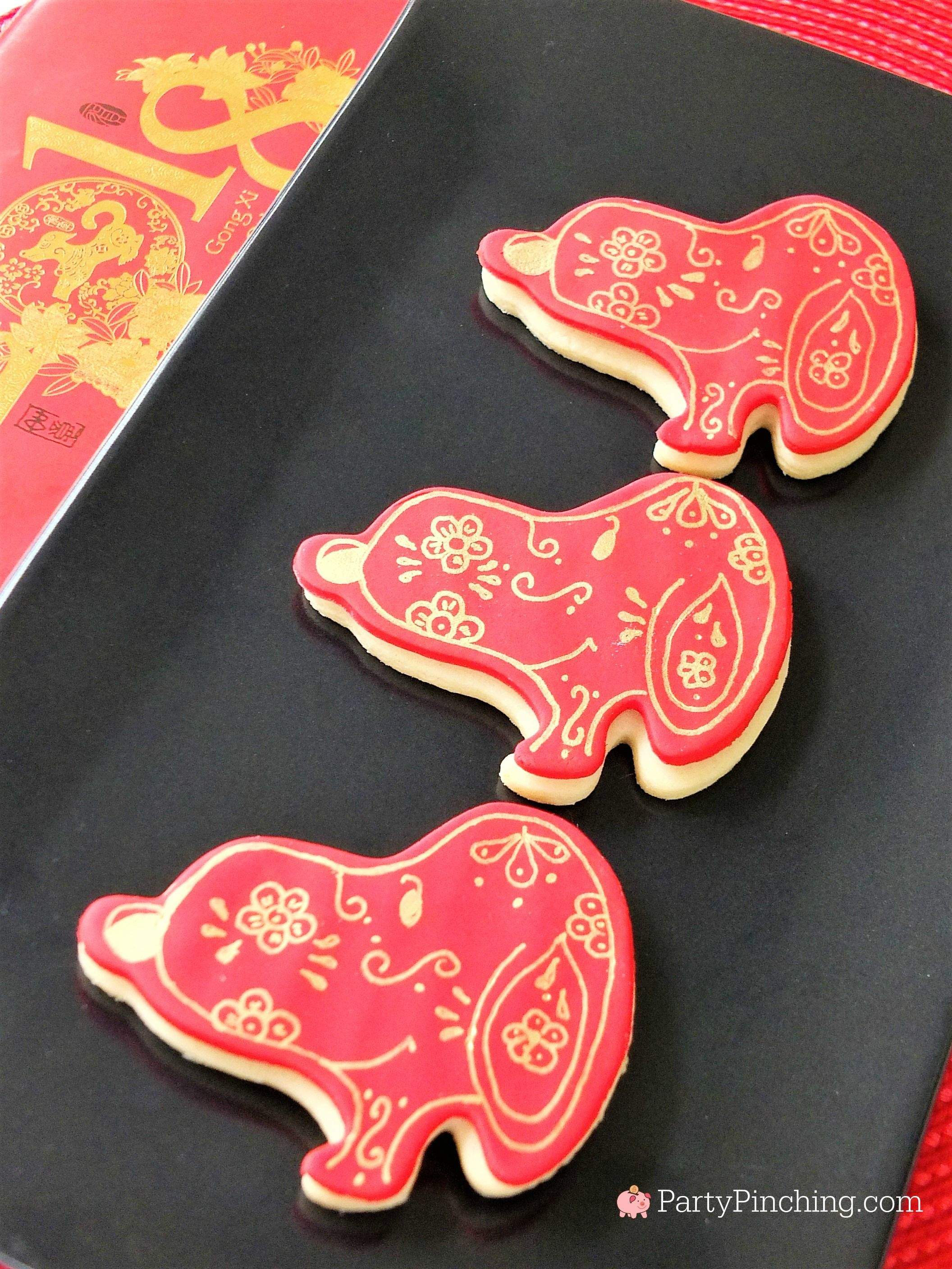 Lunar New Year Chinese New Year Year Of The Dog Snoopy Cookies