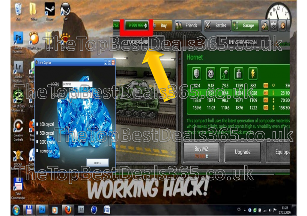 tanki online hack