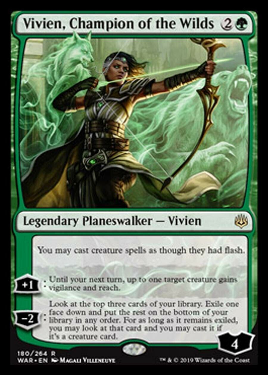 Details about mtg green white selesnya deck magic the