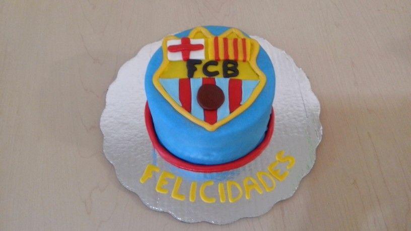 Barcelona cake