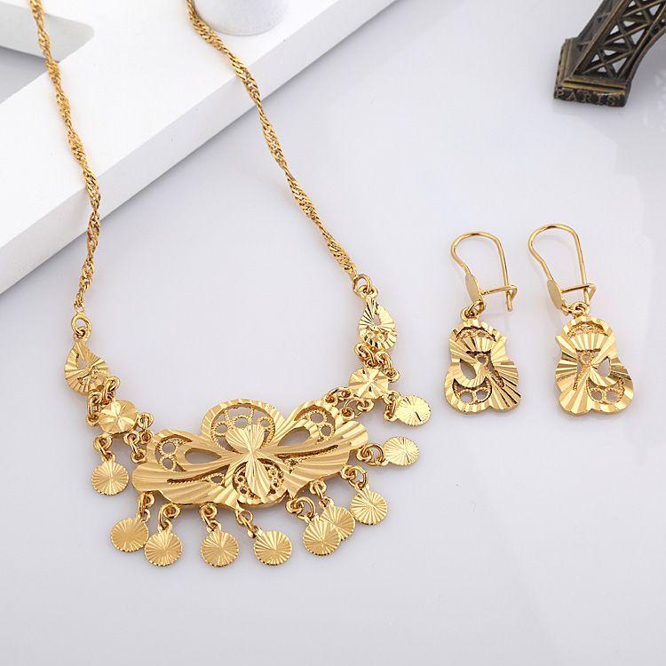 Beautiful Women/Girls\' Free Shipping Delightful Gift 24k Gold ...