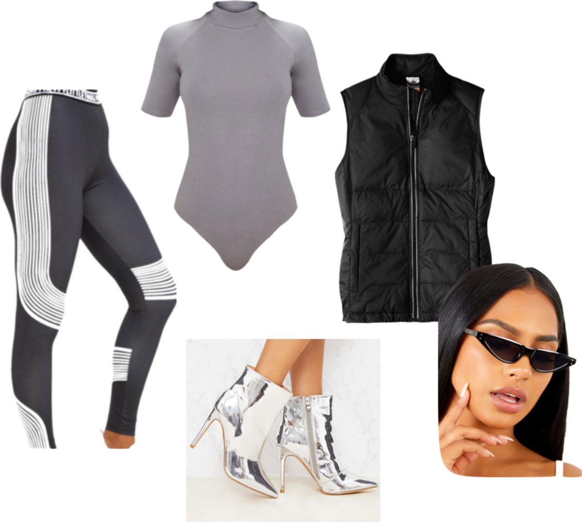 Outfit inspired by Kim Kardashian's