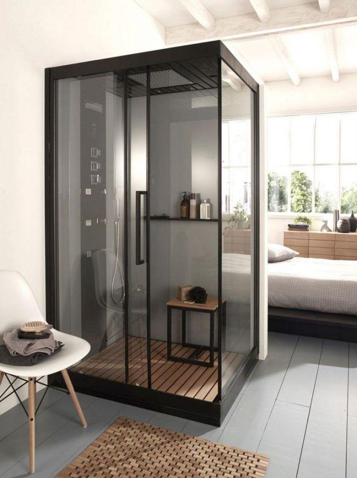 must have la paroi de douche verri re maison cabine. Black Bedroom Furniture Sets. Home Design Ideas
