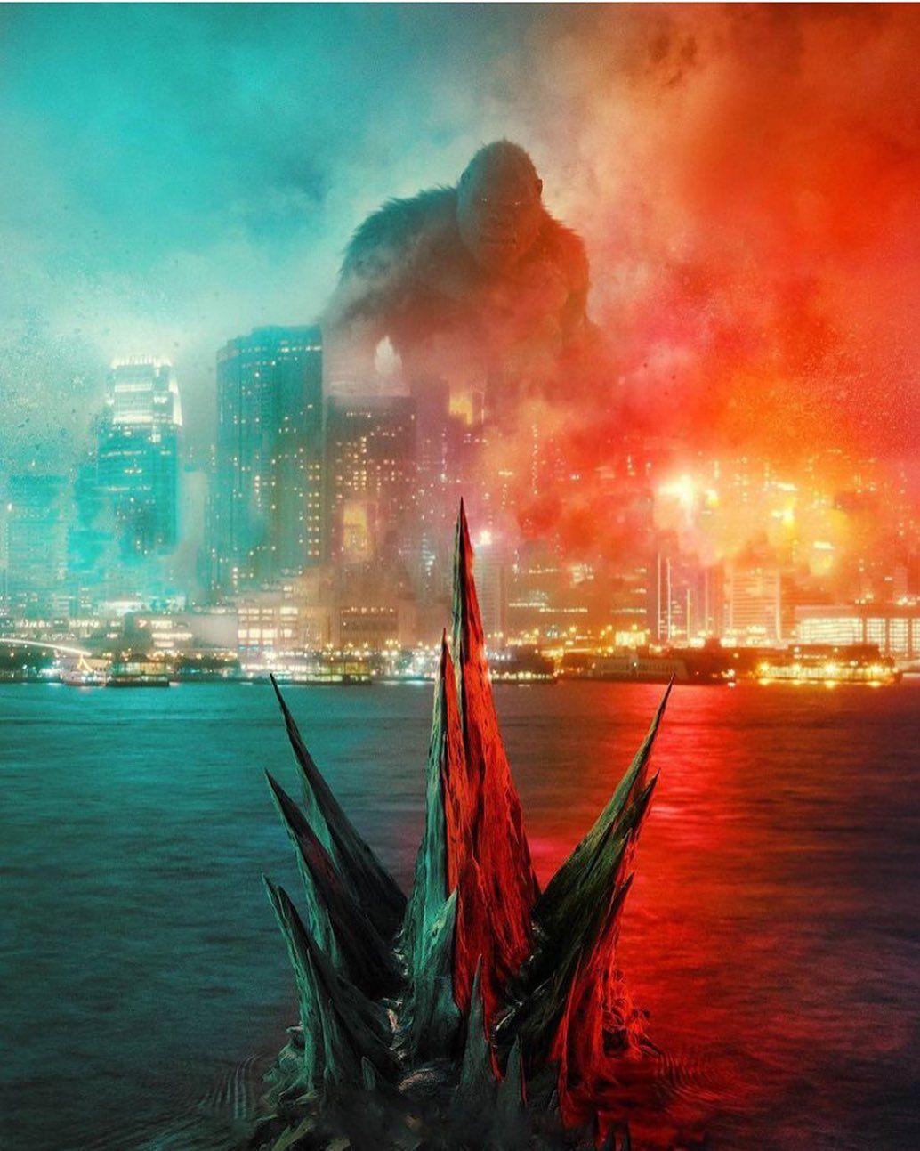 @unite_godzilla_fans__ posted on Instagram • Jan 22. 2021 at 3:13am UTC in 2021 | King kong vs godzilla. Godzilla wallpaper. Kong godzilla