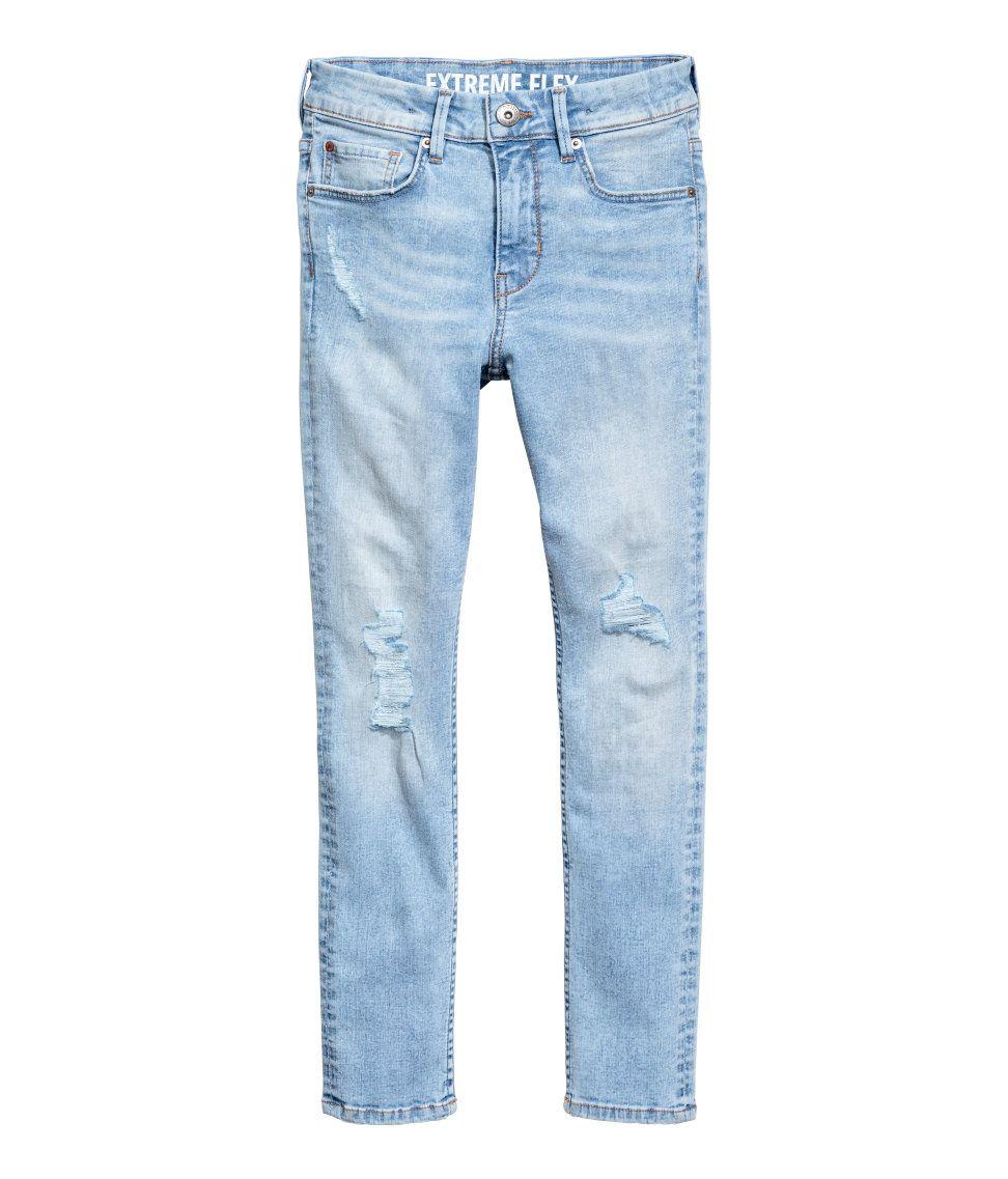 951f51faf Superstretch Skinny fit Jeans | Light denim blue | Kids | H&M IN ...