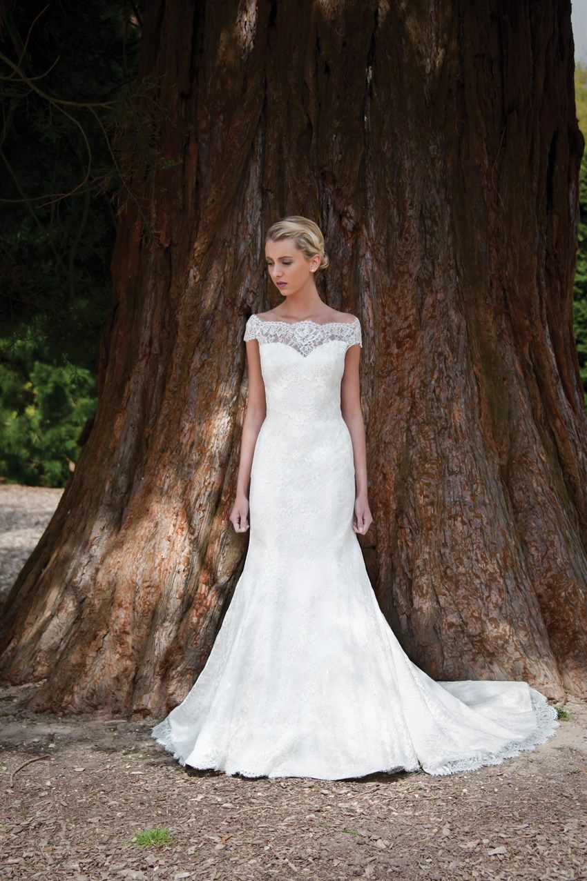 Skyler stocked at brides of york | The dress | Pinterest | Lace ...