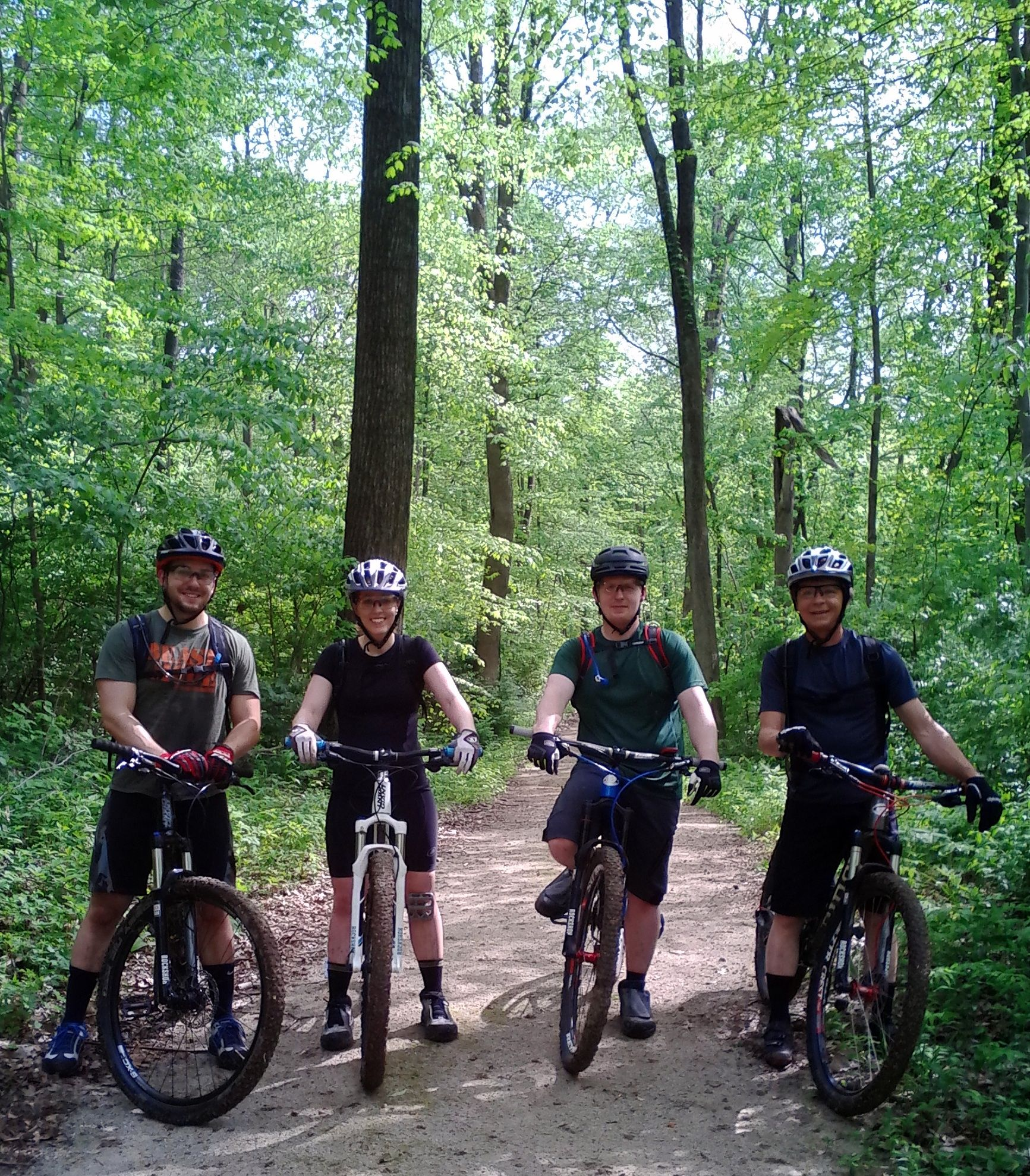 Hayes Arb Mountain Bike Trails Placed 6 In The Top 10 Indiana