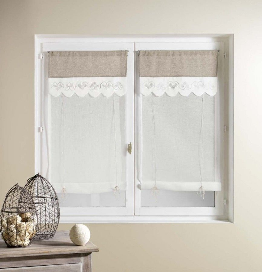 raffrollos landhausstil szukaj w google windows pinterest. Black Bedroom Furniture Sets. Home Design Ideas