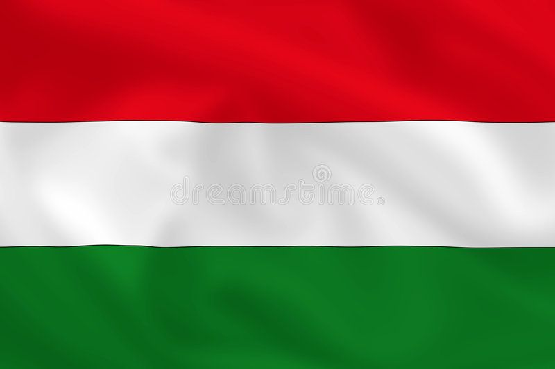 Flag Of Hungary Hungarian Waving Flag Background Or Wallpaper Sponsored Hungarian Hungary Flag Waving Wallp Hungary Flag Flag Stock Illustration