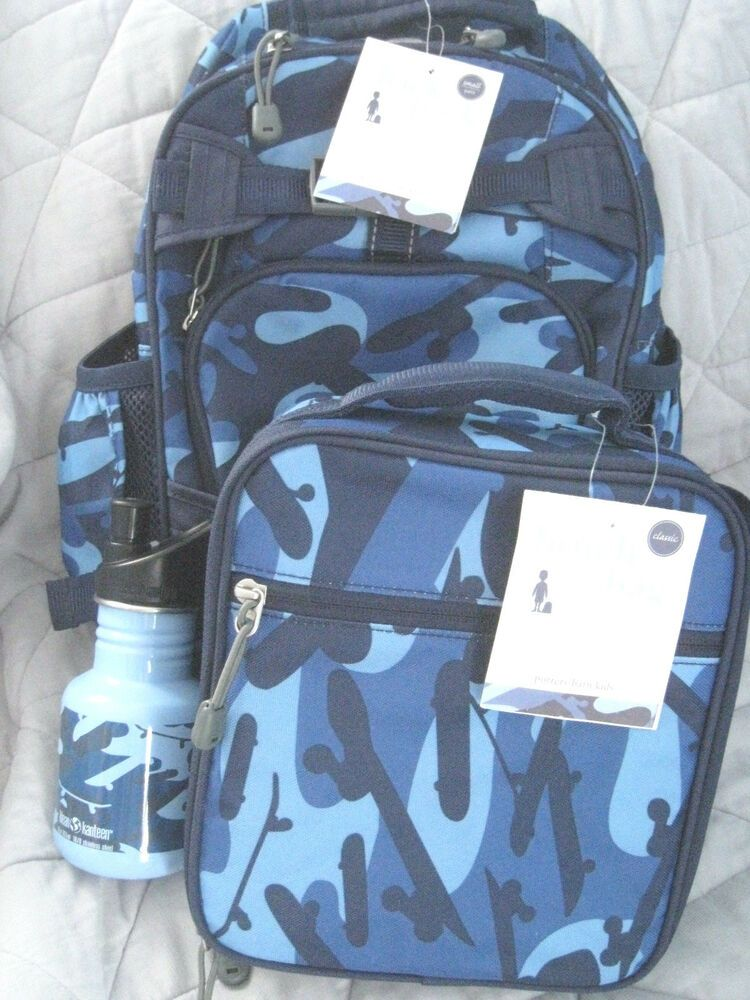 Details About New Pottery Barn Kids Small Blue Camo