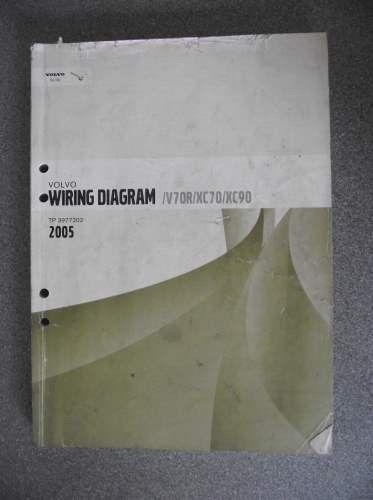 Volvo V70r Xc70 Xc90 Wiring Diagrams Manual 2005 Tp3977202 On Ebid United Kingdom