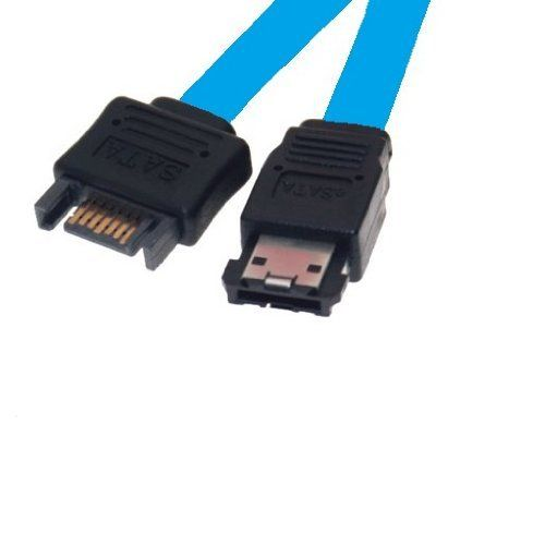 Micro Sata Cables Sata Male To Esata Cable 20 Inches By Micro Sata Cables 3 25 Esata External Connection Cable Electronic Cables Electronic Accessories