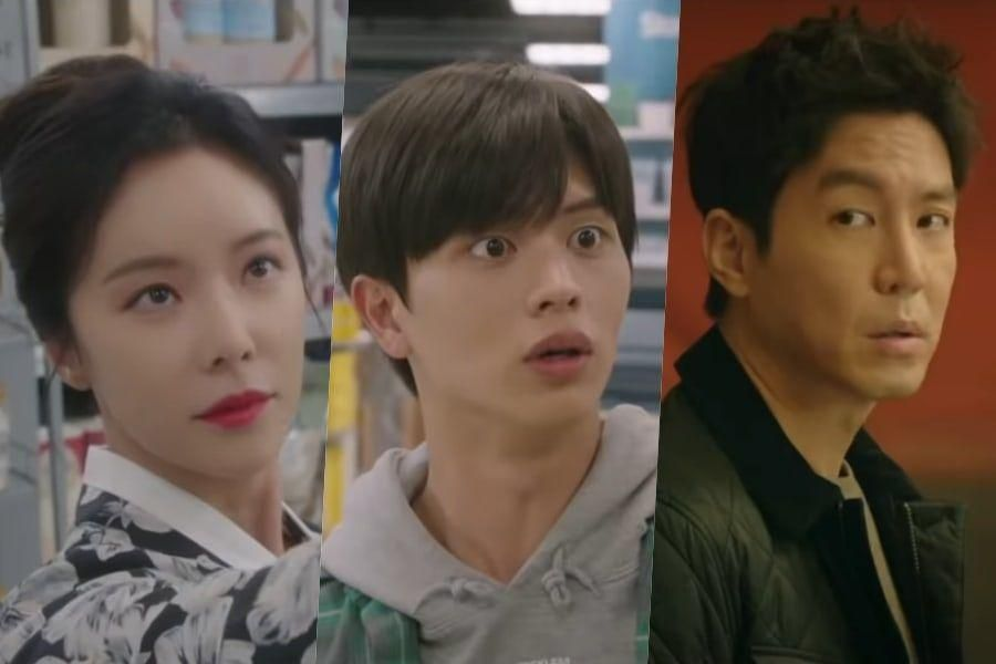 "Watch: Hwang Jung Eum, BTOB's Yook Sungjae, And Choi Won Young Team Up To Become Problem Solvers In ""Mystic Pop-Up Bar"" Teaser"