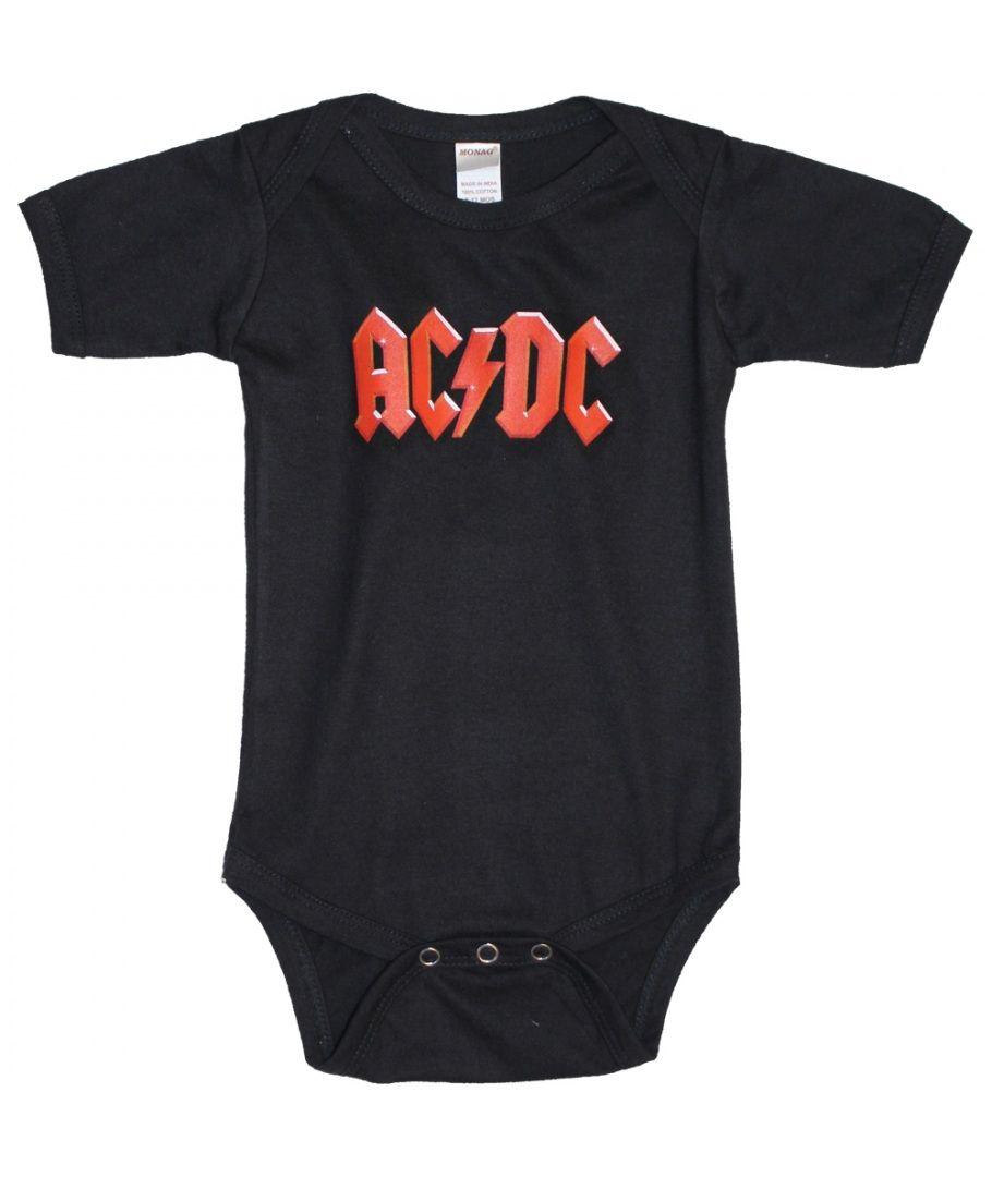 Acdc logo infant Baby Boy Clothes One PIECE Bodysuit