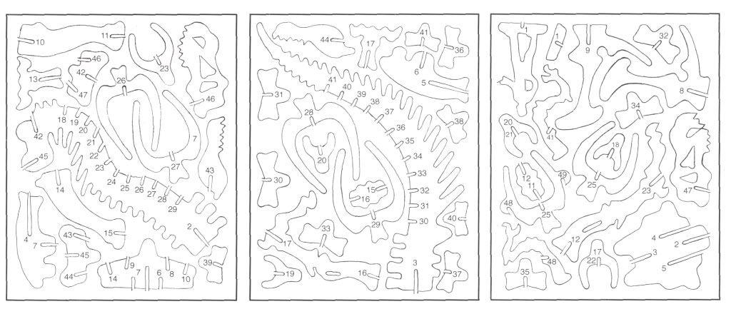 Cardboard Dinosaur Puzzle Dinosaur Puzzles Art And Hobby