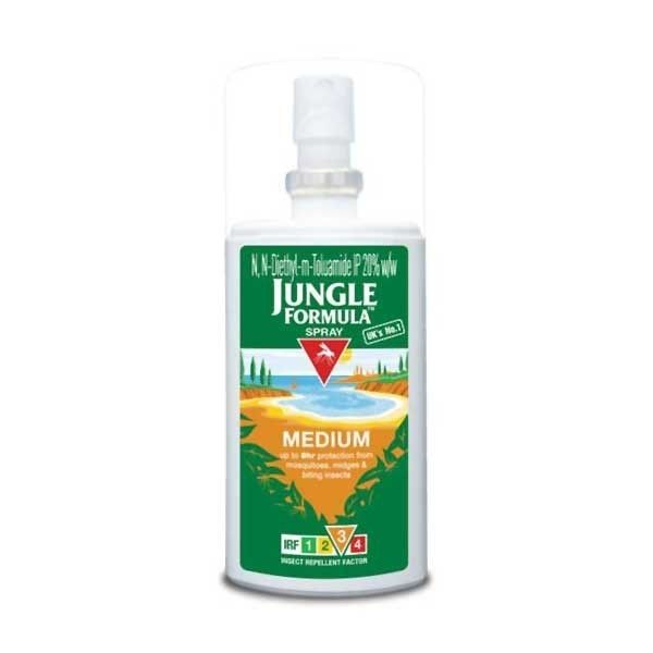 Jungle Formula Mosquito Repellent 75ml Medium Spray Buy Online At